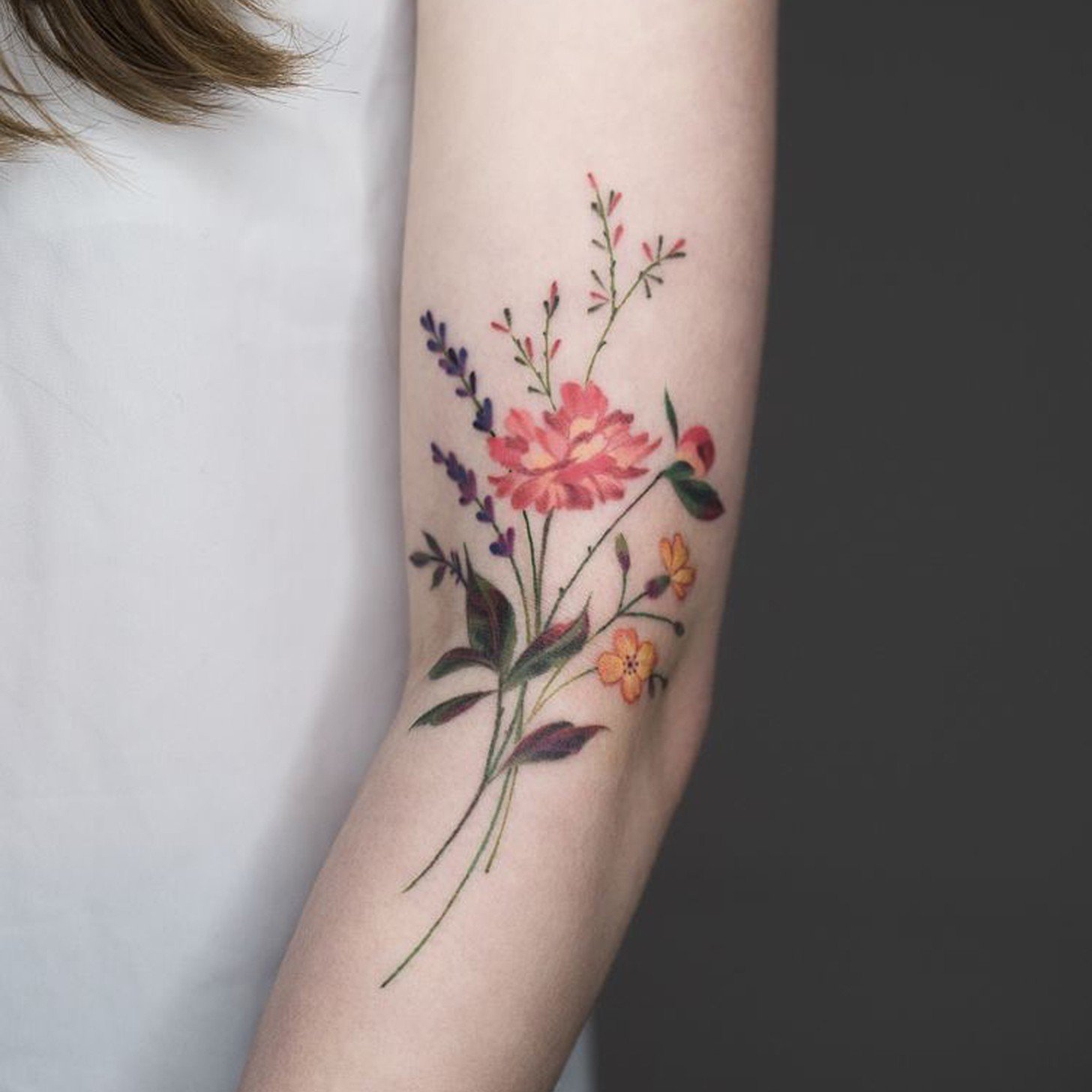 30 Absolutely Gorgeous Wildflower Tattoos Amazing Tattoo Ideas