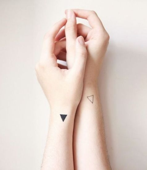 Triangle Wrist Tattoos