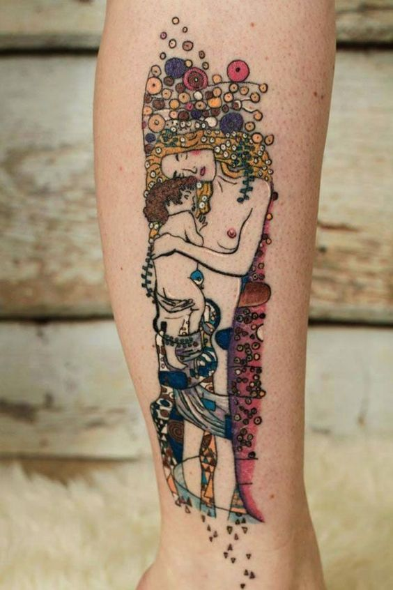 The Three Stages of Women Leg Tattoo
