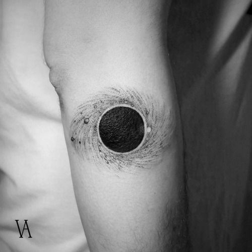 Blackhole Arm Tattoo
