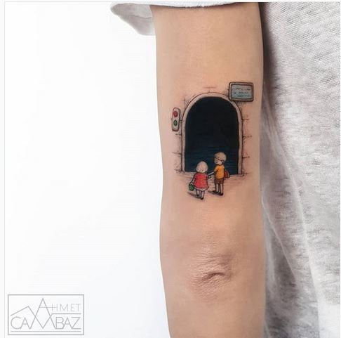The Tunnel Arm Tattoo