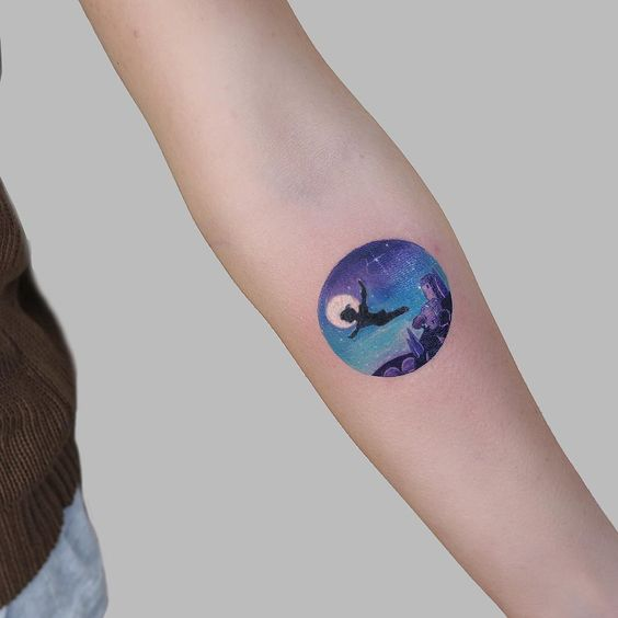 Peter Pan Forearm Tattoo