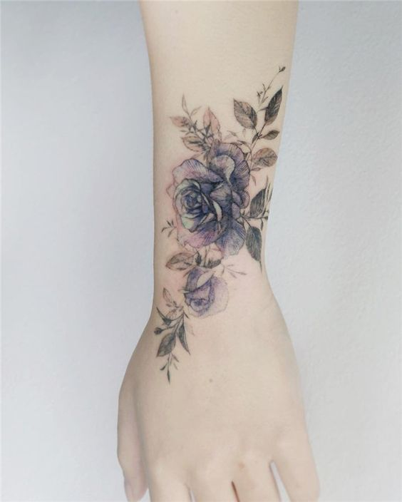 Xray Rose Forearm Tattoo