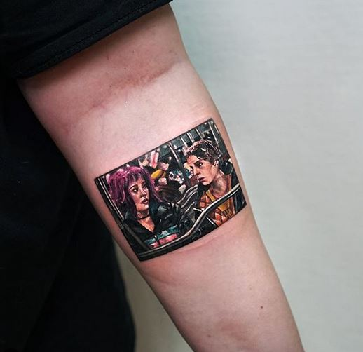 Scott Pilgrim Forearm Tattoo